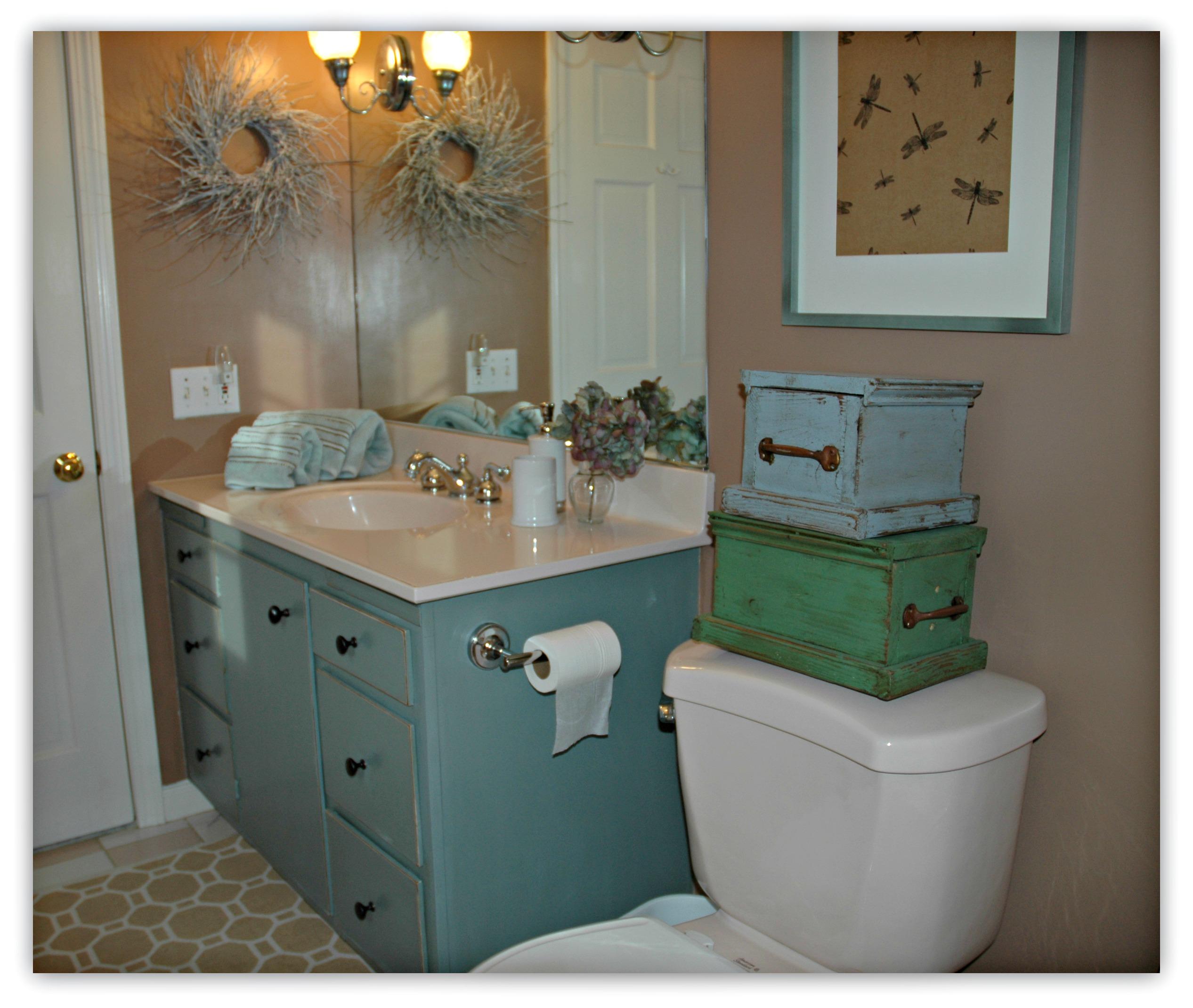 Bathroom Vanity Revamp Restoration Writer