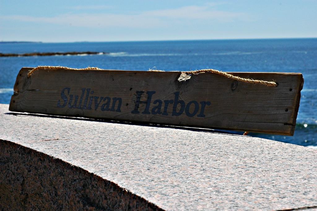 Sullivan Harbor Pallet Sign