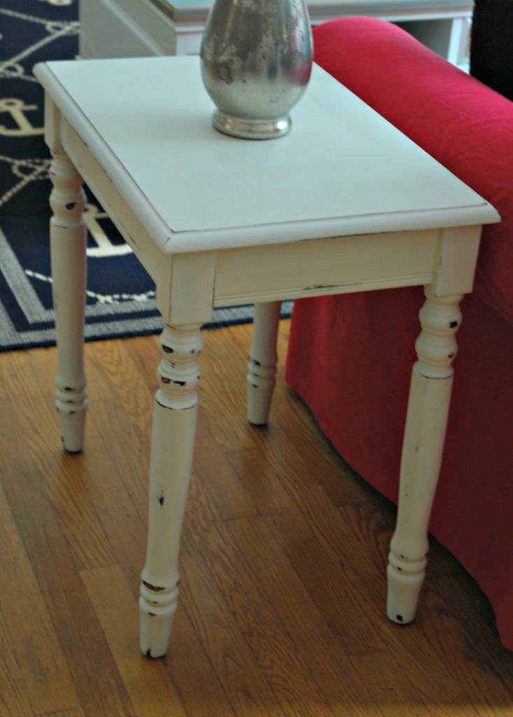 Repainted Side Table