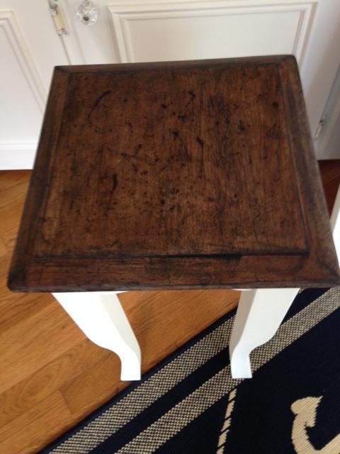 DIY Distressed Table Top