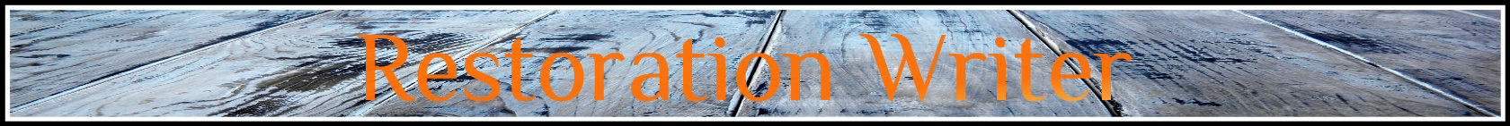 Restoration Writer