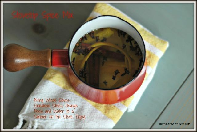 Simmering spice mix. www.restorationwriter.com