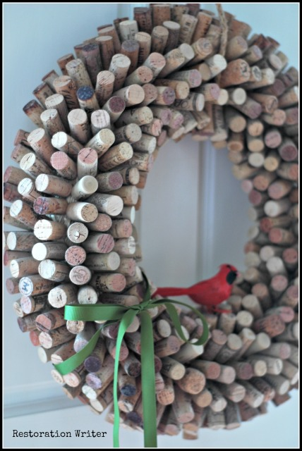 Cork Wreath Tutorial