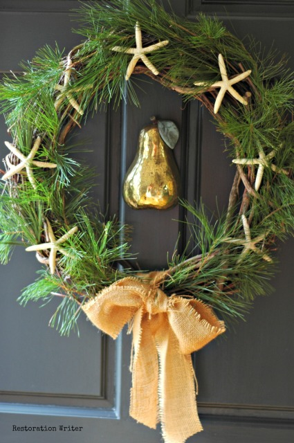 Easy Winter Wreath