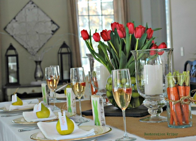 Decorate an Easter Table