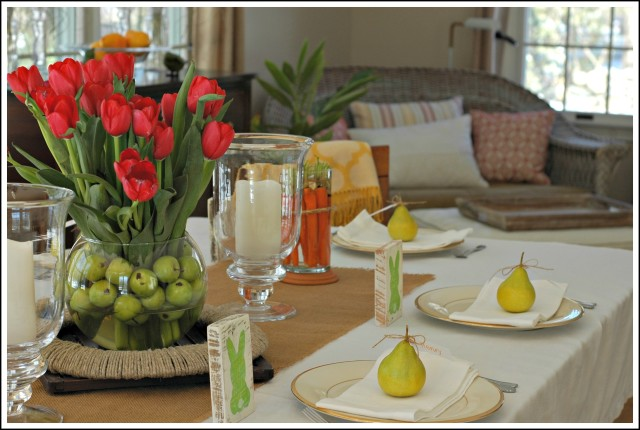 Cheerful and Bright Easter Decor