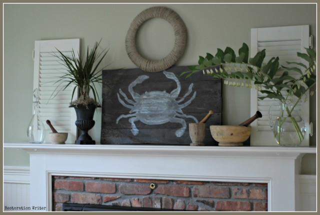 How to Decorate a Spring Mantel 3 Easy Steps