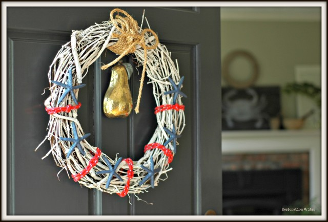 Patriotic Spring Wreath Tutorial