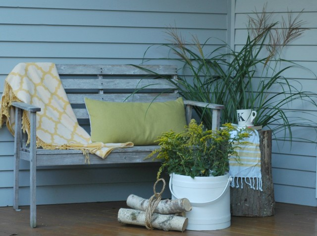 How to Decorate a Fall Porch